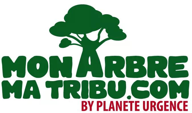 Logo Mon Arbre / Ma tribu by Planète Urgence